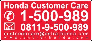Honda Customer Care